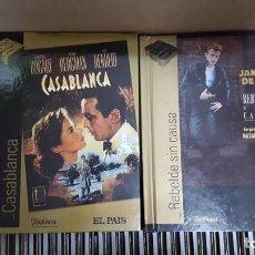 Cine: COLECCION CINE DE ORO DE EL PAIS CON 69 TITULOS EN DVD+LIBRO. Lote 143850218