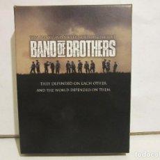 Cine: BAND OF BROTHERS (HERMANOS DE SANGRE) - TOM HANKS, STEVEN SPIELBERG - 6 X DVD - DELUXE - 2002 - EX+. Lote 143878062