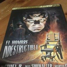 Cine: EL HOMBRE INDESTRUCTIBLE - DVD LON CHANEY. Lote 143957506