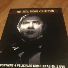 Cine: THE BELA LUGOSI COLLECTION - 2 DVD DIGIPACK. Lote 143957656