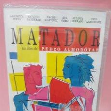 Cine: MATADOR (PEDRO ALMODÓVAR) DVD -PRECINTADO-. Lote 143962224
