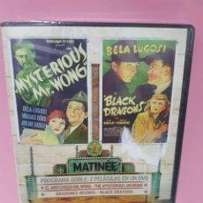 Cine: EL MISTERIOSO MR.WONG /DRAGONES NEGROS (VOSE) DVD -PRECINTADO-. Lote 143963988