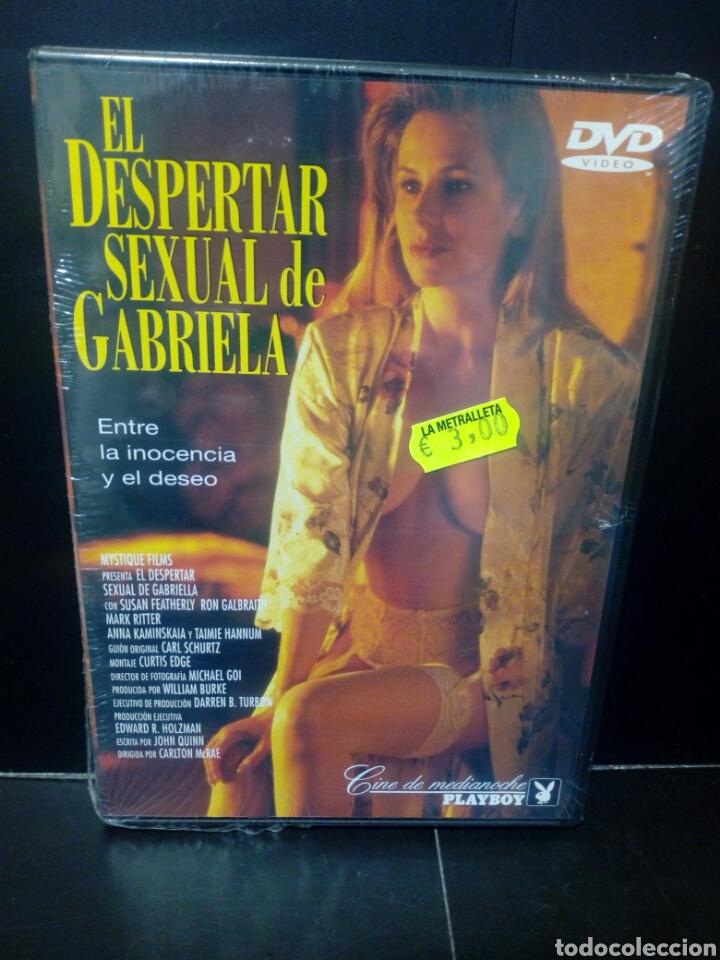 EL DESPERTAR SEXUAL DE GABRIELA DVD (Cine - Películas - DVD)