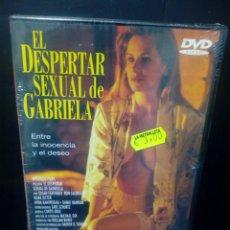 Cine: EL DESPERTAR SEXUAL DE GABRIELA DVD. Lote 144097869