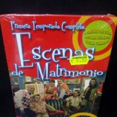 Cine: ESCENAS DE MATRIMONIO - PRIMERA TEMPORADA COMPLETA DVD. Lote 144136242