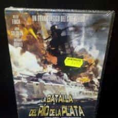 Cine: LA BATALLA DEL RÍO DELA PLATA DVD. Lote 144136332