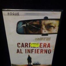 Cine: CARRETERA AL INFIERNO DVD. Lote 144136782