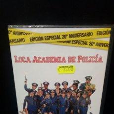 Cine: LOCA ACADEMIA DE POLICÍA DVD. Lote 144137084