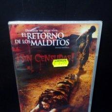 Cine: EL RETORNO DE LOS MALDITOS DVD. Lote 144137434
