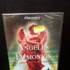 Cine: ÁNGELES VS. DEMONIOS DVD. Lote 144141182