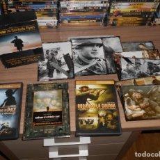 Cine: PACK 2ª GUERRA MUNDIAL STEVEN SPELBERG 4 DVD SALVAR AL SOLDADO RYAN - EL PRECIO DE LA PAZ ETC.. + PO. Lote 144209090