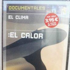 Cine: DVD DOCUMENTALES EL CLIMA; EL CALOR. Lote 144253738