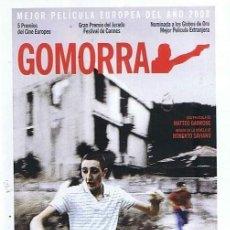 Cine: GOMORRA. DVD. MATTEO GARRONE. ESTUCHE DELGADO. SOBRE LA OBRA DE ROBERTO SAVIANO. Lote 144358614