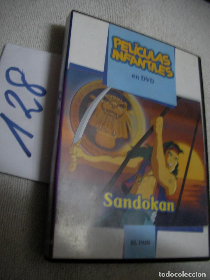 PELICULA DVD - SANDOKAN - ENVIO INCLUIDO A ESPAÑA (Cine - Películas - DVD)