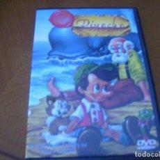 Cine: PINOCHO / RARA EDICION DVD. Lote 144552110