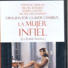 Cine: LA MUJER INFIEL DVD (LA FEMME INFIDÈLE). Lote 40313876
