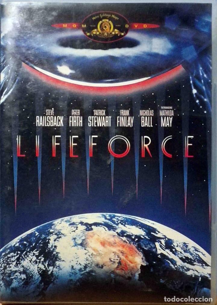 TODODVD: LIFEFORCE - FUERZA VITAL - TOBE HOOPER - V.O. SUBTÍTULOS CASTELLANO. (Cine - Películas - DVD)