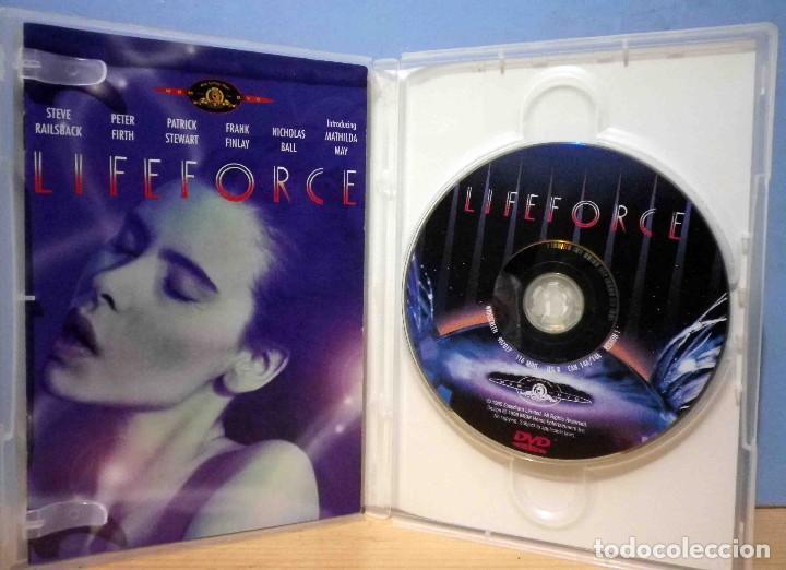 Cine: TODODVD: Lifeforce - Fuerza Vital - Tobe Hooper - V.O. Subtítulos Castellano. - Foto 3 - 144648422