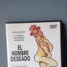 Cine: EL HOMBRE DESEADO DVD DESCATALOGADO. Lote 144703222