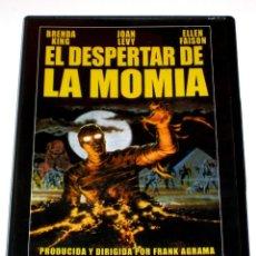 Cine: EL DESPERTAR DE LA MOMIA - FRANK AGRAMA BRENDA KING ELLEN FAISON DVD DESCATALOGADA. Lote 144736586