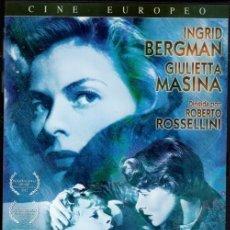 Cine: EUROPA 1951 DVD (R. ROSSELLINI +INGRID BERGMAN)-LOS REMORDIMIENTOS LE LLEVAN A DAR LO MEJOR DE SÍ.. Lote 40313316
