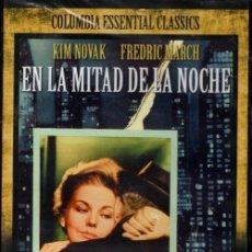 Cine: EN LA MITADE DE LA NOCHE DVD (KIM NOVAK +F. MARCH) ..SER JOVEN Y GUAPA DESPIERTA RECELOS Y ENVIDIAS. Lote 145044930