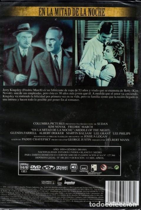 Cine: en la mitade de la noche dvd (KIM NOVAK +F. MARCH) ..SER JOVEN Y GUAPA DESPIERTA RECELOS Y ENVIDIAS - Foto 2 - 145044930