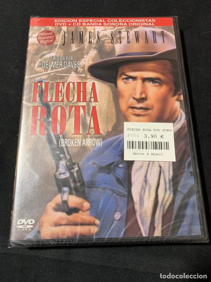 ( A45 ) FLECHA ROTA - JAMES STEWART ( DVD NUEVO PRECINTADO ) (Cine - Películas - DVD)
