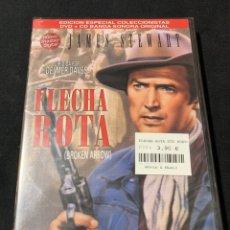 Cine: ( A45 ) FLECHA ROTA - JAMES STEWART ( DVD NUEVO PRECINTADO ). Lote 145112610