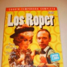 Cine: DVD 2 DISCOS. LOS ROPER. 4ª TEMPORADA COMPLETA. CAPÍTULOS DEL 24 AL 30 (SEMINUEVO). Lote 145125066
