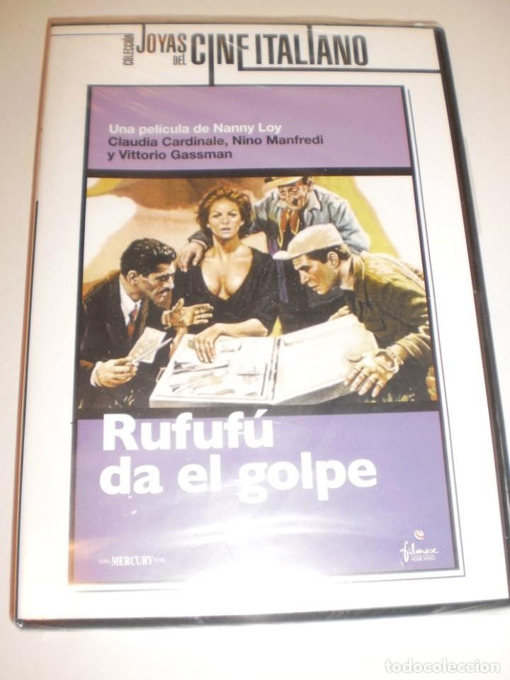 DVD RUFUFÚ DA EL GOLPE. CLAUDIA CARDINALE. NINO MANFREDI. VITTORIO GASSMAN. D NANNY LOY (PRECINTADA) (Cine - Películas - DVD)