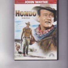 Cine: HONDO. CON JOHN WAYNE. EDICIÓN FRANCESA CON AUDIO EN ESPAÑOL. Lote 145174858