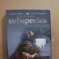 Cine: ( RESEN ) SUBESPECIES - DVD NUEVO PRECINTADO. Lote 145209398