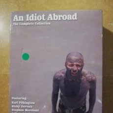Cine: AN IDIOT ABROAD. THE COMPLETE COLLECTION (CONTIENE 5 DVD). Lote 145216902