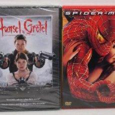 Cine: LOTE DVD, EL REY ESCORPIÓN, SPIDERMAN 2, HANSEL Y GRETEL, GODZILLA, ANACONDA, DRAGON WARS. Lote 145224774