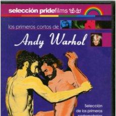 Cine: ANDY WARHOL - PRIMEROS CORTOS (BLOW JOP, KISS, MARIO BANANA I Y II, EMPIRE) - DVD SPAIN - PRIDE. Lote 145432942
