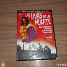 Cine: LAS UVAS DE LA MUERTE DVD ZOMBIES TERROR NUEVA PRECINTADA. Lote 147938829