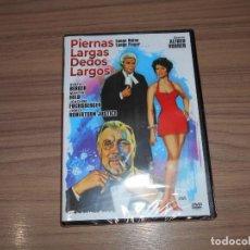 Cine: PIERNAS LARGAS DEDOS LARGOS DVD SENTA BERGER JOACHIM FUCHSBERGER NUEVA PRECINTADA. Lote 219471147