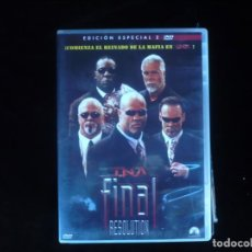 Cine: TNA FINAL RESOLUTION EDICION ESPECIAL 2 DISCOS - DVD COMO NUEVO. Lote 180314782