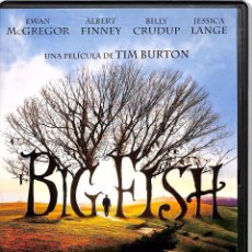 Cine: DVD BIG FISH - TIM BURTON. Lote 145546318