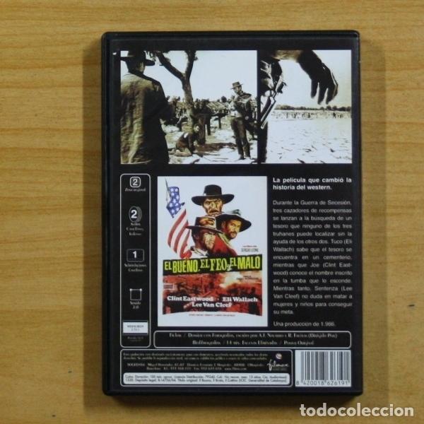 Cine: EL BUENO EL FEO Y EL MALO - DVD - Foto 2 - 145570493