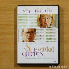Cine: SI DE VERDAD QUIERES - DVD. Lote 145571016