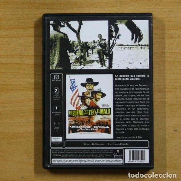 Cine: EL BUENO EL FEO Y EL MALO - DVD - Foto 2 - 145576349