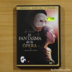 Cine: EL FANTASMA DE LA OPERA - DVD. Lote 145577264