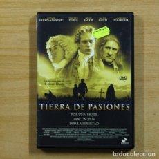 Cine: TIERRA DE PASIONES - DVD. Lote 145578660
