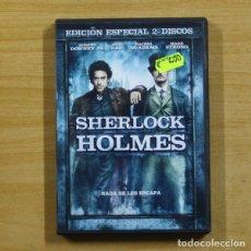 Cine: SHERLOCK HOLMES - DVD. Lote 145579761