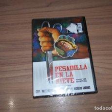 Cine: PESADILLA EN LA NIEVE DVD TERROR NUEVA PRECINTADA. Lote 239561495
