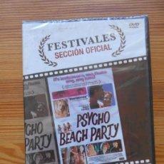 Cinema: DVD PSYCHO BEACH PARTY - NUEVA, PRECINTADA (DQ). Lote 145594050