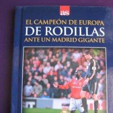 Cine: REAL MADRID - MANCHESTER 19/4/2000 DVD + LIBRO - FUTBOL - RAUL - REDONDO - DE RODILLAS . Lote 145690474