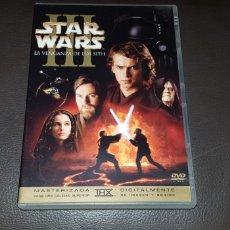 Cine: DVD DOBLE STAR WARS LA VENGANXA DE LOS SITH. Lote 145715005